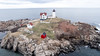 Nubble Light from Above