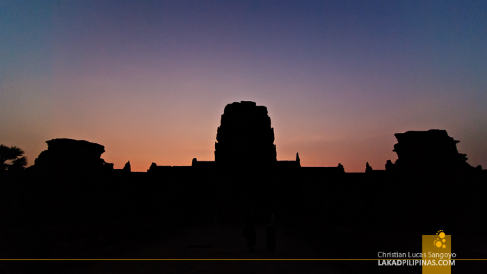 Angkor Wat Sunset in Siem Reap
