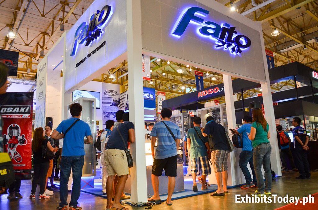 Faito Philippines Trade Show Booth