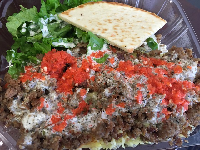 Lamb gyro plate - Halal Cart