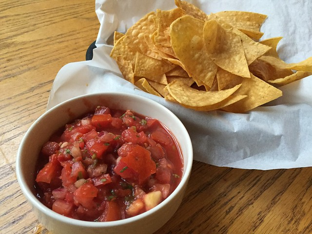 Chips and salsa - Mountain Room Lounge
