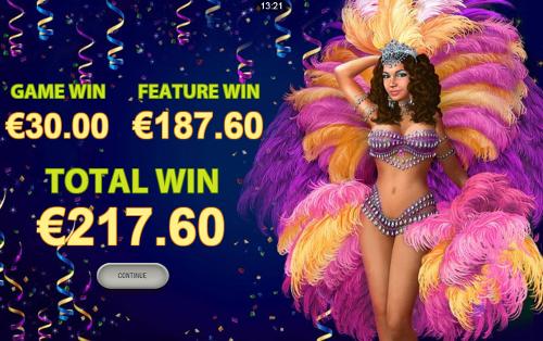 free Samba Brazil Mobile free spins total prize