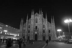 Milan - Piazza del Duomo night