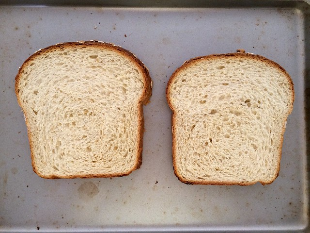 2 Slices Homemade Bread for Toasting