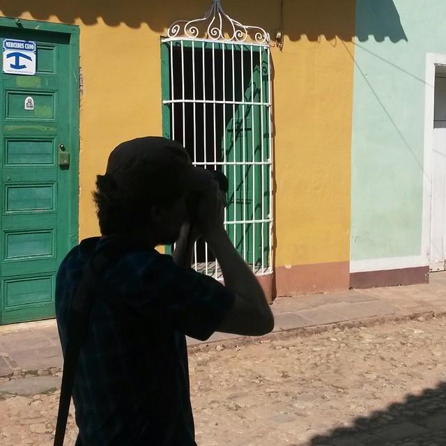 Valokuvaaja, Trinidad, Kuuba