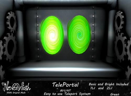 *NW* Green TelePortal