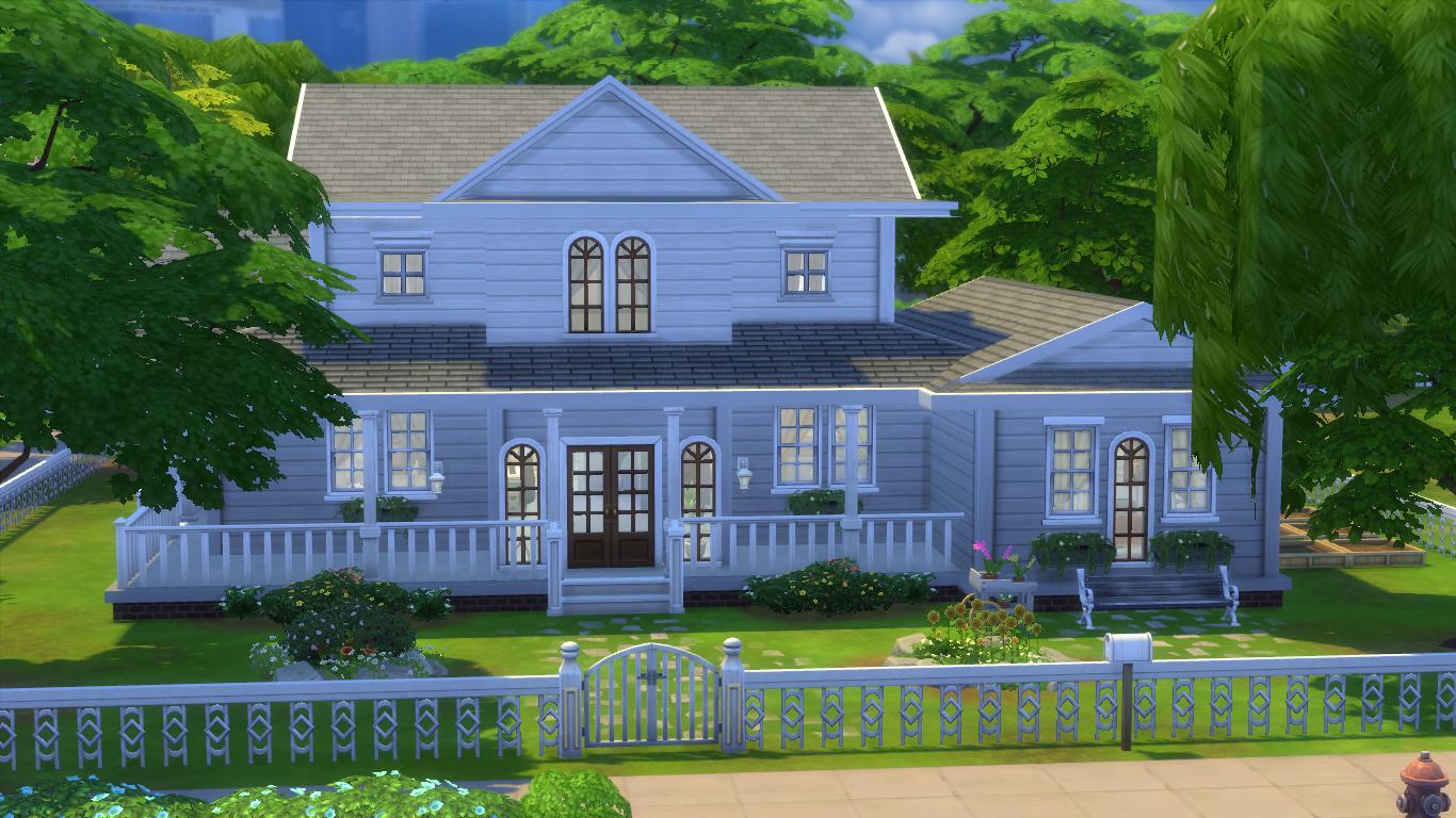 Decoraci n de estilo country tutorial y descarga pekesims for Sims 2 mansiones y jardines