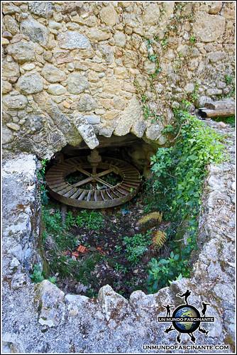 Lagar del tio Alicio en la Garganta de Marta, Valle del Jerte. España.