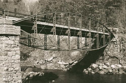Hadley Parabolic Bridge, Hadley NY
