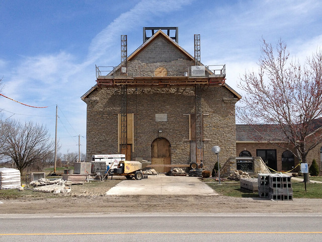 Repairing St. John's Lutheran Church
