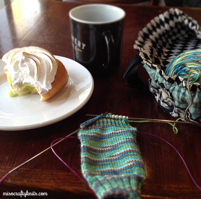 Knitting - Back in the saddle