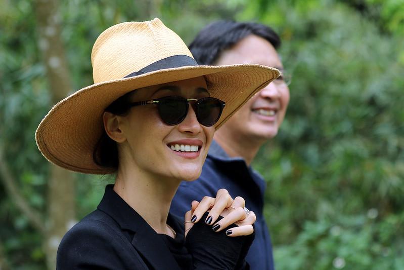 Maggie Q & Vietnam Director Tuan Bendixsen