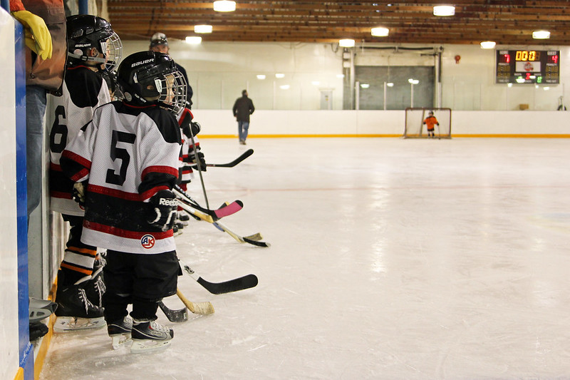 Braden's 1st Year of Hockey