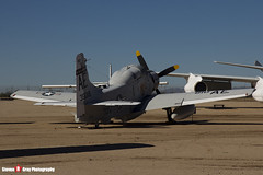 135018 AE-810 - 10095 - US Navy - Douglas EA-1F Skyraider AD-5Q - Pima Air and Space Museum, Tucson, Arizona - 141226 - Steven Gray - IMG_8485