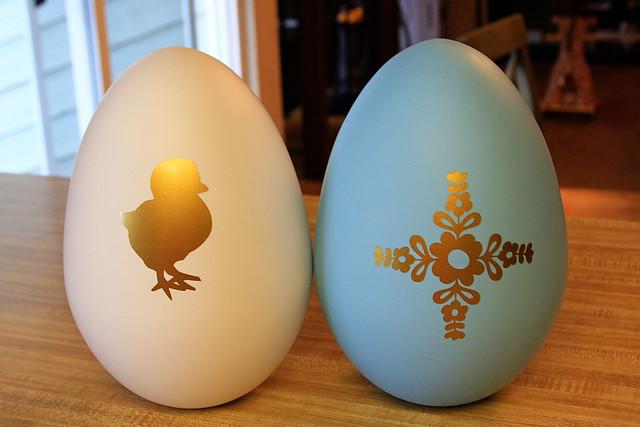 Vinyl Jumbo Easter Eggs