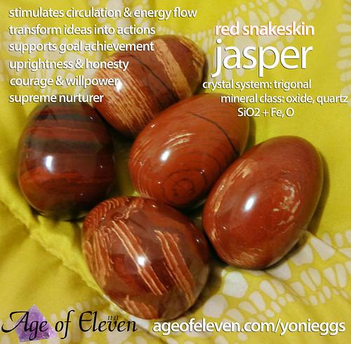 Red Snakeskin Jasper; secondary mineral formation