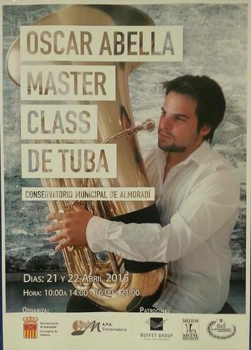 Master Class Oscar Abella Almoradí 2015
