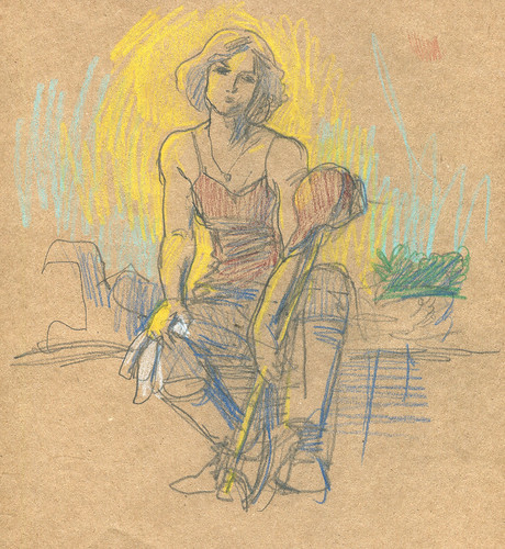 Dr. Sketchy - Pioneer Woman