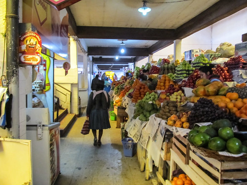 Sucre: el mercado central et ses fruits