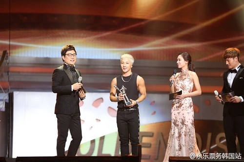 Tae Yang - Golden Disk Awards 2014 - 14jan2015 - 永乐票务韩国站 - 01