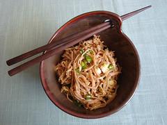 Soba Noodles with Sesame Seeds