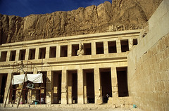 Ägypten 1999 (369) Theben West: Totentempel der Hatschepsut