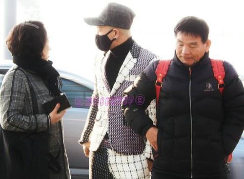 Tae Yang - Incheon Airport - 09jan2015 - NoiizVip - 03