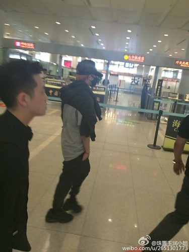 BIGBANG GDTOPDAE arrival Hangzhou 2015-08-25 156