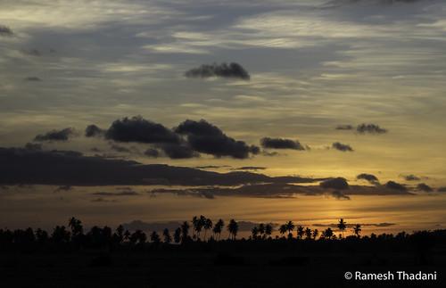 Sunset near Conde, Ba - Brazil