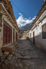 Empty Nepalese Street
