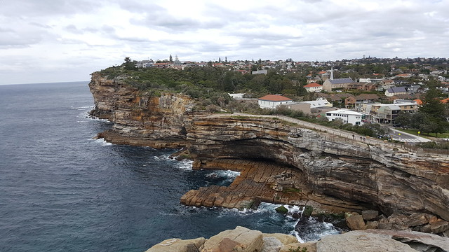 The Gap, Cliff Front Over the Pacific, Watson's Bay Sydney
