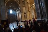 Watching The Cardinals In St. Peter's Basilica