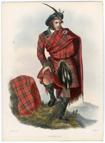 006-Clans_of_the_Scottish_Highlands_1847_Plate_009-The Metropolitan Museum of Art-Thomas J. Watson Library