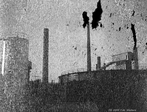 Port Kembla Steelworks (1947 expired Gevaert Express Superchrom 120 film)