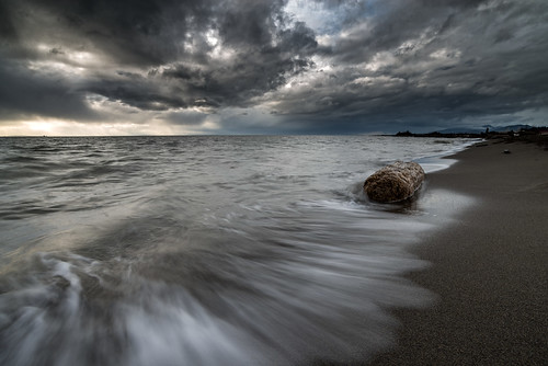 Light Storm.  Fine Art Photography by Daniel Burdett