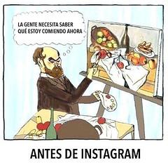 antes de instagram