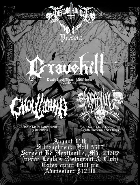 Gravehill at Schizophrenia Hall