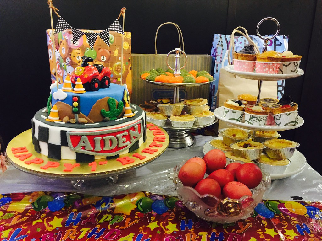 Aiden's 1st Birthday