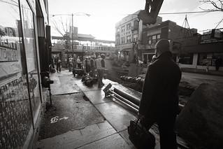 Walk to the train