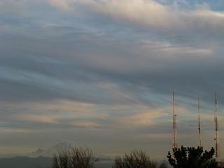 Mount Rainier and Towers