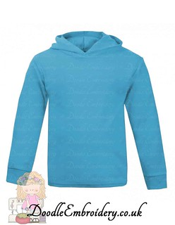 Hoodie - Turquoise copy