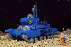 Tintin Moon Tank