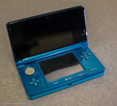 Nintendo 3DS XL. Photo courtesy of the Media Commons