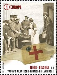 04 DE GROOTE OORLOG 1915 timbre D
