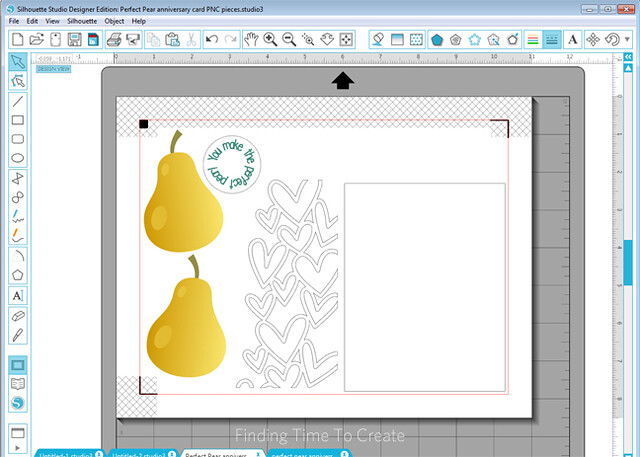 Perfect Pear Print and Cut