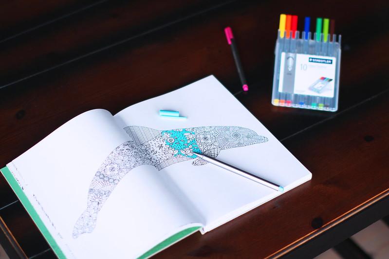Kreativ fargelegging