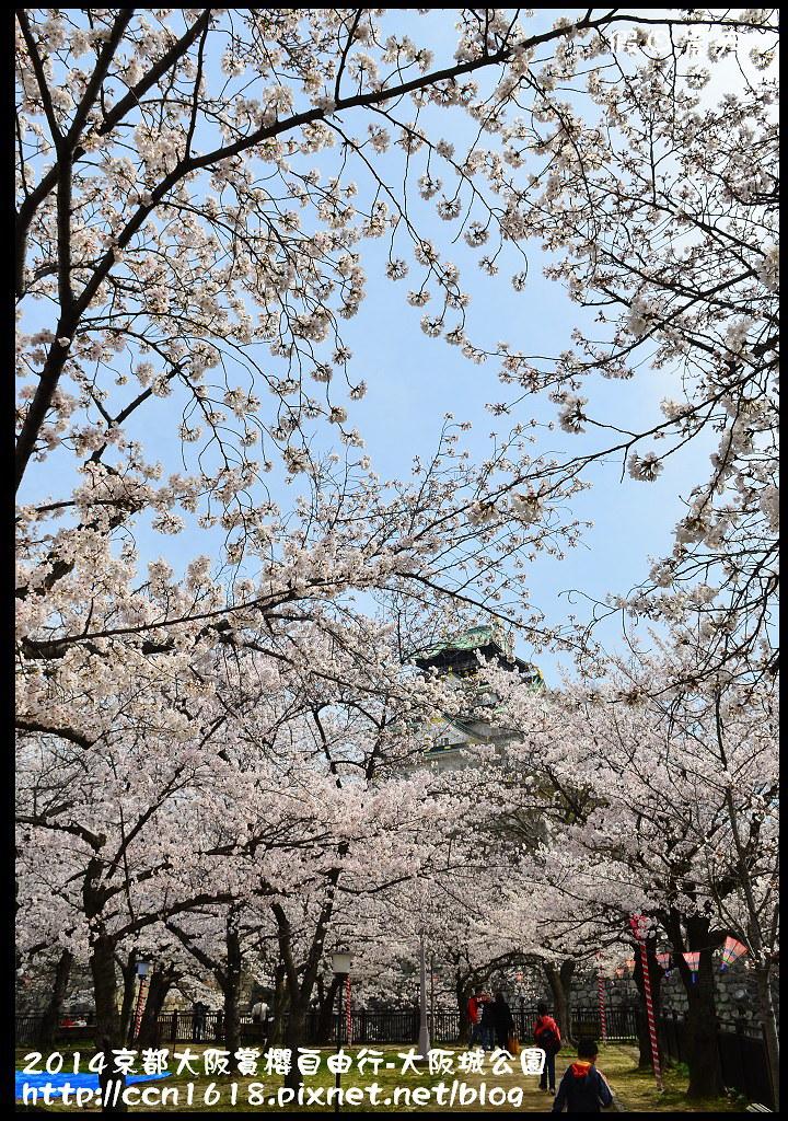 2014京都大阪賞櫻自由行-大阪城公園DSC_1856