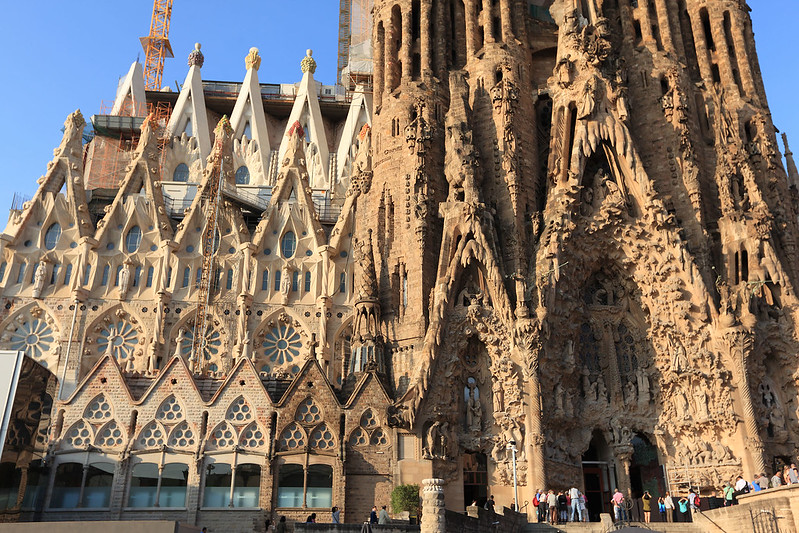 Image result for sagrada familia exterior detail
