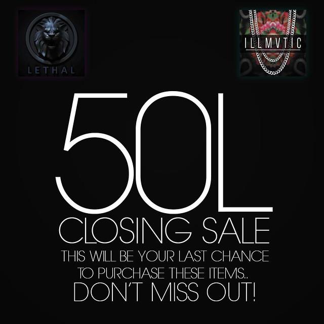 illmvtic Closing Sale