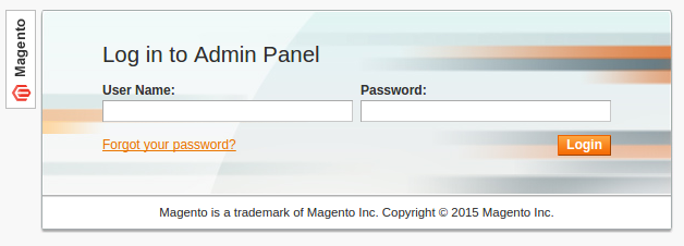 Create Magento SOAP v2 API with simple steps by Anil Kumar Panigrahi - Log into Magento Admin Page